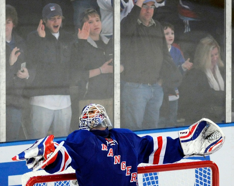 Henrik Lundqvist Slappers And Stats